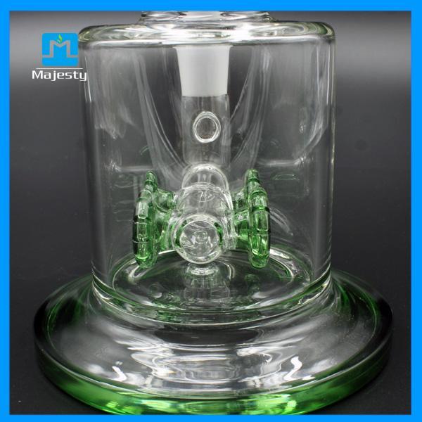 Majestad más nuevo Bong agua Pipe Mujer 18mm Conjunto 250mm Altura de cristal Plataforma petrolera fumadores narguiles Pipe
