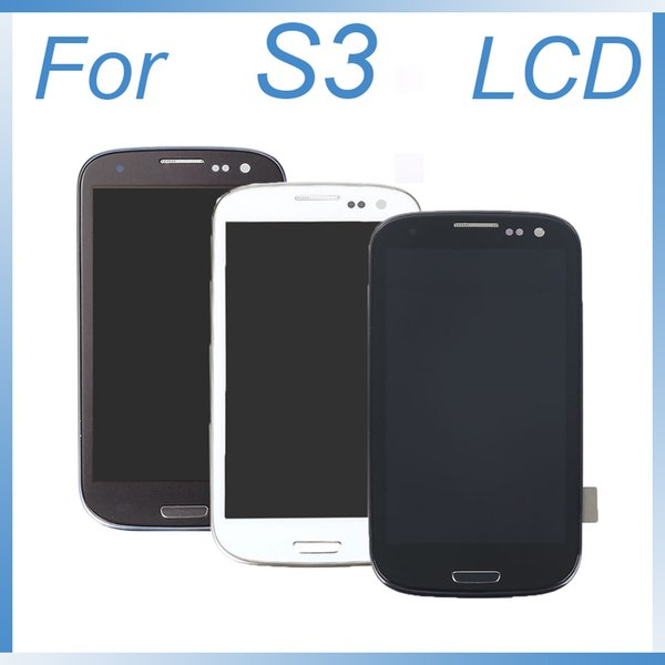 Full LCD Display+Touch Screen Digitizer Assembly Mobile Phone Repair Part Replacement for Samsung Galaxy S3 SIII S3 i9301 i9300i i9308i i930