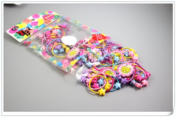 top popular Wholesale Hair Accessories Cartoon rubber band 2019