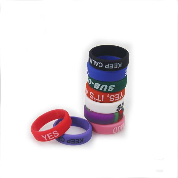 Красочные нескользящие силиконовые кольца для электронной сигареты мод пара силиконовой лентой Vape кольцо нескользящие силиконовое кольцо для Mahattan Apollo Subtank
