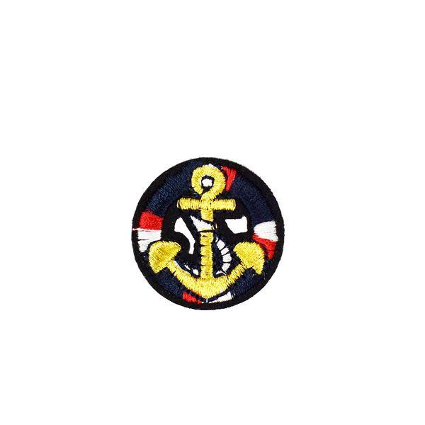 10 PCS Gancho Bordado Patches para Roupas de Ferro em Applique Remendo de Transferência para o Revestimento Sacos DIY Costurar Emblema Do Bordado