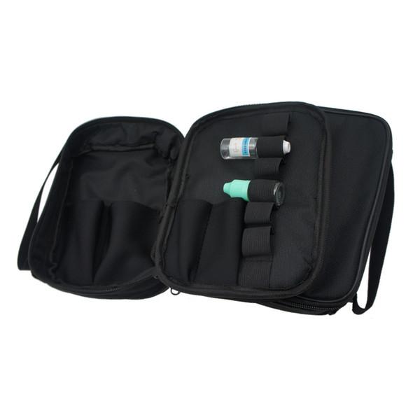 Vapor Pocket Double Deck Vape Carry Bag Vaping Case Ecig Borsa da trasporto con tracolla per RDA RTA RBA Mech / Box Mod ecigs
