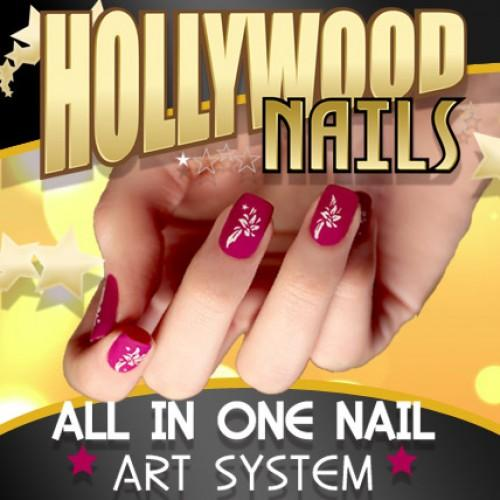 New fashion hollywood nails all in one system nails art tools set new fashion hollywood nails all in one system nails art tools set to manicure for nail prinsesfo Gallery