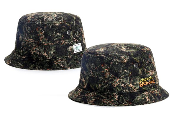 cheech   chong Cayler   Sons Bucket hats Hat Fisherman Hat Stingy Brim Hats  Cotton hat Cap Caps Mix Order High Quality Hot Selling TYMY 24 0aaa071f3a1d