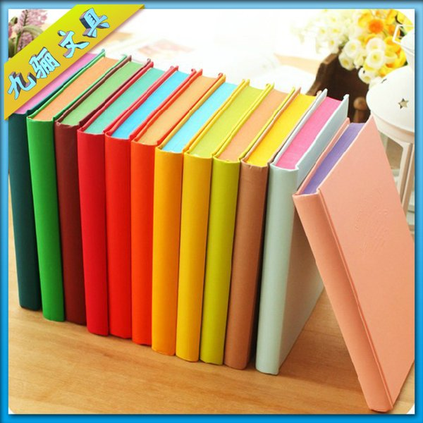 Korean stationery colorful candy-colored diary notebook creative a4 12 small notepad 11771