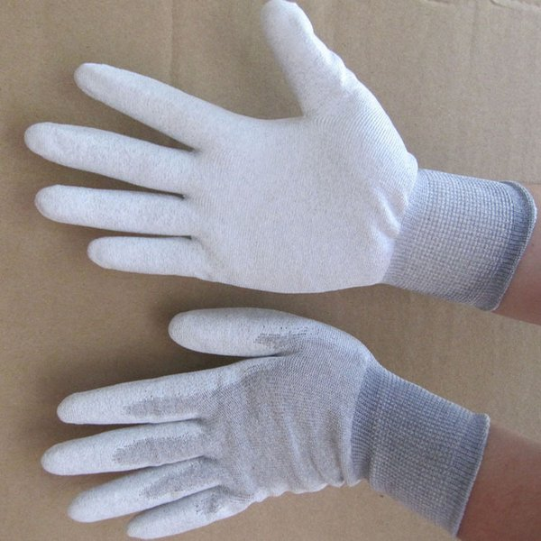Larger Aituo 3 Pair Anti-Static Anti-Skid Gloves Pc Computer Working Safe Gloves