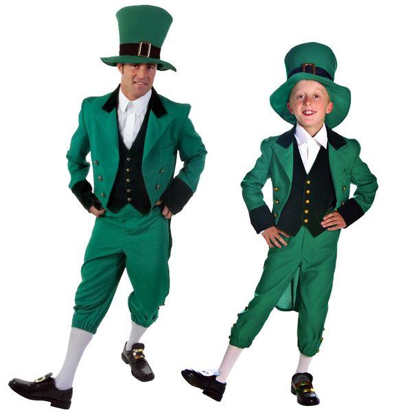 Leprechaun Ragazza Costume Costume Tutte Le Età