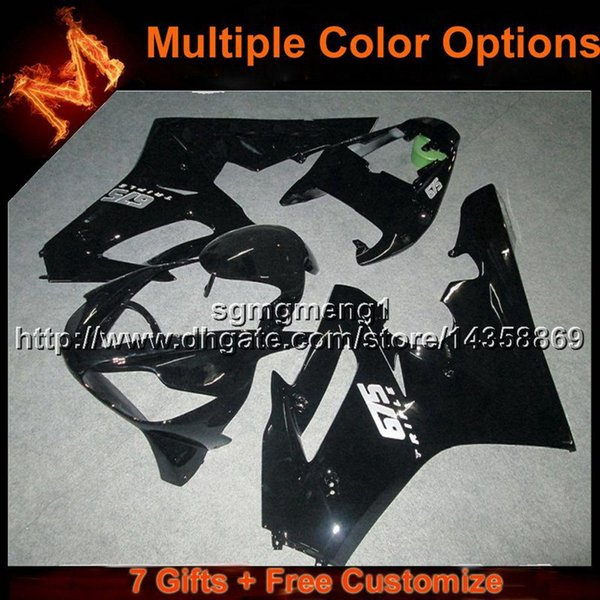 23colors+8Gifts injection mold BLACK ABS bodywork motorcycle Fairing for Daytona 675 2006-2008 675 2006 2007 2008 07 08