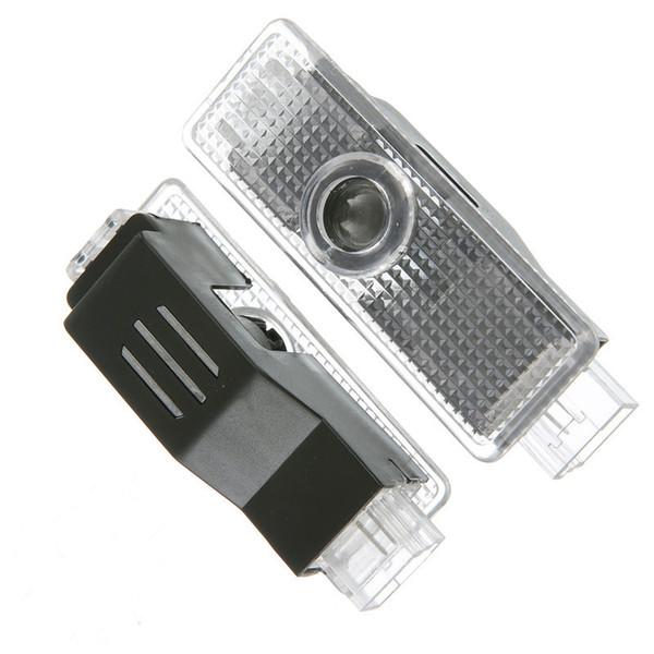 Lumières laser de projecteur de voiture automatique LED Ghost Shadow pour la lumière de porte de porte de voiture de BMW 12V s'allume lampe de porte de logo