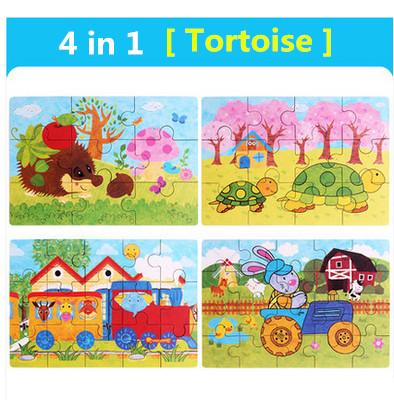 Color:4 in 1 Tortoise