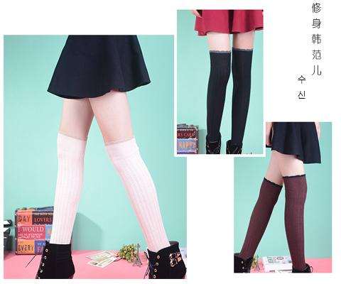 long korea over knee leg warmers Dance socks Warm up knitted booty Gaiters Boot Cuffs Socks Boot Covers Leggings Tight 6pair/lot #3939