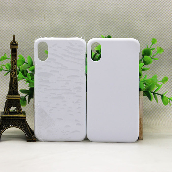 New Arrival Custom Sublimation 3D Phone Case for iPhoneX 3D White Glossy Matte Case DIY Design Blank Cover for iPhone X