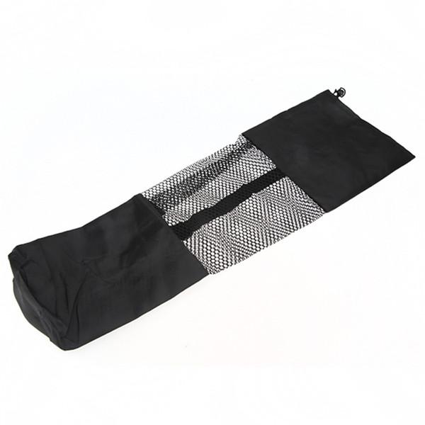 Wholesale-Nylon Yoga Mat Carry Bag Yoga mat Accessory Yoga Pads Single Shoulder Bag Carrier Holder+Mesh