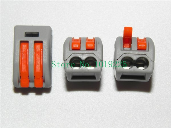 200pcs WAGO 222-412 Universal Compact Wire Wiring Connector 2 pin ...