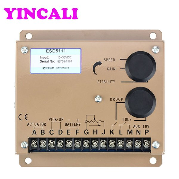 Electric governor for diesel engine speed controller ESD5111 is a closed-loop control of the entire electronic design