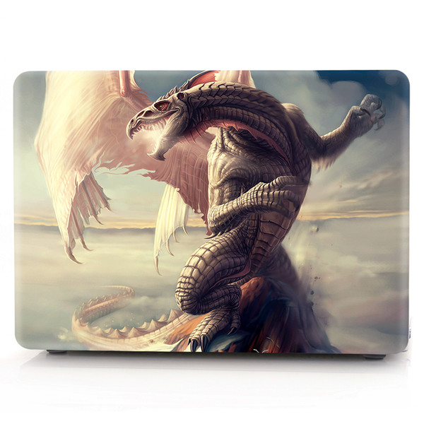 Ghost-1 Oil painting Case for Apple Macbook Air 11 13 Pro Retina 12 13 15 inch Touch Bar 13 15 Laptop Cover Shell