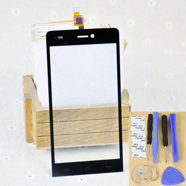Explay indigo Telefon Dokunmatik Panel Sayısallaştırıcı Ücretsiz Nakliye Toptan-Siyah Renk 4.7inch Dokunmatik Ekran + Araç Kitleri + Ekran Koruyucu