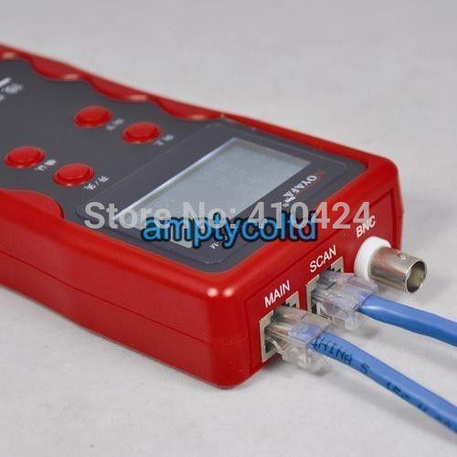 NOYAFA NF-868 Red LAN Comprobador de teléfono Cable Rastreador Cable coaxial USB Probador de Red Pedido de $ 18No seguimiento