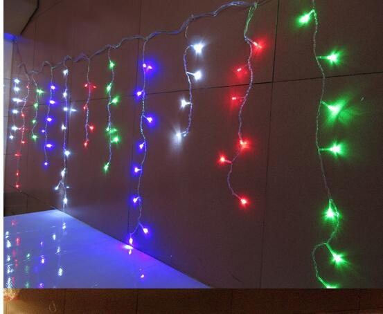 how to decorate with icicle lights.htm 15m x 0 75m 648 led icicle curtain led string lights snowing  led icicle curtain led string lights
