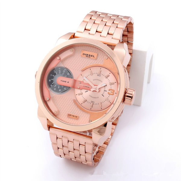 Calendrier Case.Hot Sale Gold Watch Case And Strap Of Whole Steel Calendrier Watch Charm Fashion Business Geneva Watches Man Golden Watch Digital Watches Gold Watch
