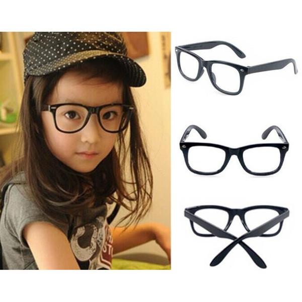 top popular Children Sunglasses Frames Girls Eyeglasses Sunglass without Lenses Super Light and Lovely Frame Glasses Wholesale Free Shipping 0020GLS 2019