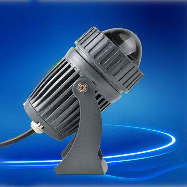 Faretto a fascio stretto Wall washer lamp 10W RGB floodlight outdoor landscape lighting AC85-265V faretti a tenuta stagna Lineari Light