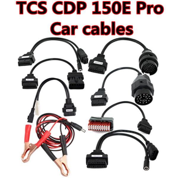 New arrival! 8 pcs OBD2 car fault detection diagnostic line car line, for TCS CDP 150E Pro Car cables