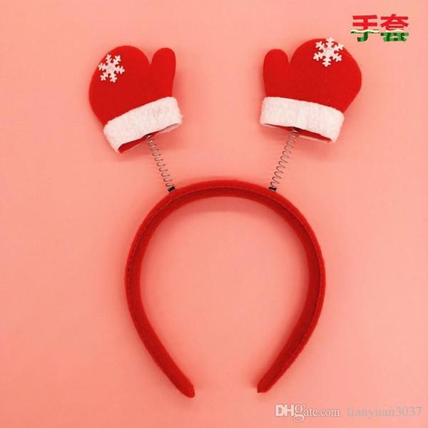 Santa Reindeer Antler Hat Deer Horn Christmas Cap Free Shipping New Gift TY1653