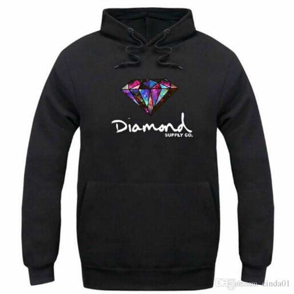 Diamante suministro co hombres sudadera con capucha mujer calle polar vellón sudadera invierno otoño moda hip hop primitivo pullover