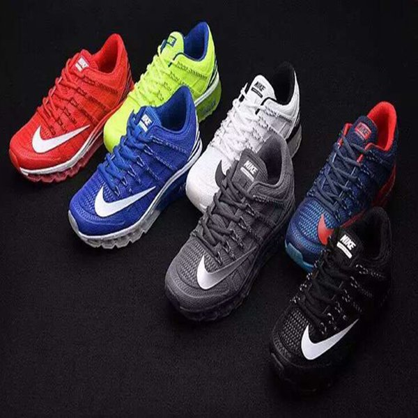 Wholesale Cheap Men's Nike Air Max 2016 KPU Leather Shoes