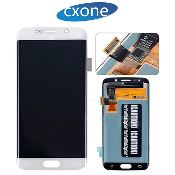 Best Original Quality Original Display LCD Gold Blue White Panels Touch Screen Assembly for Samsung Galaxy S6 Edge G925 G925A G925V G925T