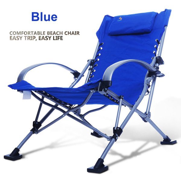 Stupendous Wholesale Fishing Chairs Beach Chair Portable Folding Chair Aluminum Folding Outdoor Chairs Blue Red Green Sky Blue Load 300Kg Wicker Garden Furniture Cjindustries Chair Design For Home Cjindustriesco