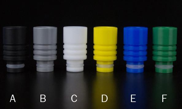 Низкая цена 510 капельного советы новый Оптовая различные цвета Delrin капельного наконечника широкий капельный наконечник для электронной сигареты 510 распылитель