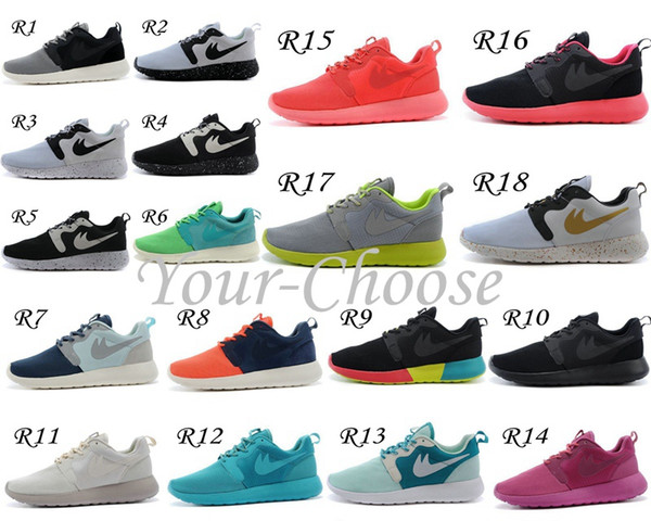 newest 5eb01 f467f 2015 New Roshe Run HYP QS 3M Women Men Running Shoe Fashion Athletic London  Olympic Sports