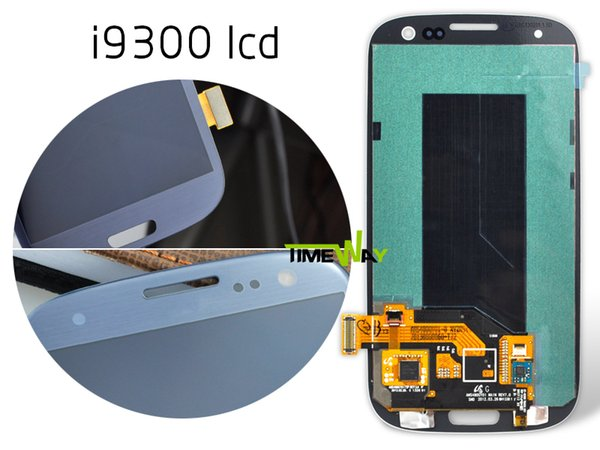 Wholesale-free shipping lcd for Samsung Galaxy S3 LCD Display Touch Screen Digitizer Assembly gt-i9300 gt-i9305 i747 sch-i535 sgh-t999
