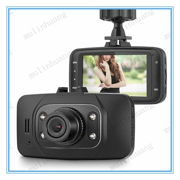 GS8000L HD1080P 2.7 pulgadas Coche DVR Registrador de vehículo Vehículo Cámara Grabadora de video Dash Cam G-sensor HDMI 1pcs