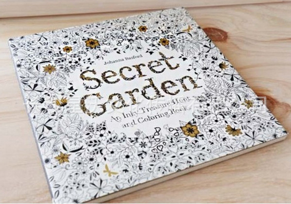 2015 Hot Graffiti Painting Drawing Book Secret Garden An Inky Treasure Hunt And Coloring For