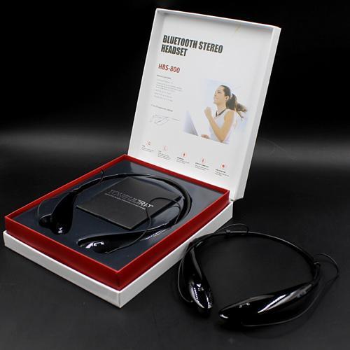 HBS 800 Auriculares Bluetooth HBS800 Auriculares Estéreo Deporte inalámbrico Banda para el cuello HBS-800 Auriculares para Iphone6 PLUS Samsung S6 DHL ear007 gratis