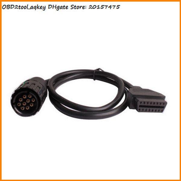 Câble ICOM D 10 broches AQkey OBD2tool, pour câble de connecteur 10pin BMW icom à obd2 16pin, connecteur de diagnostic ICOM OBD 10pin Store: 20157475