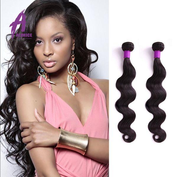 Brazilian Virgin Hair Body Wave 1 Pcs Lot 100% human hair 8-30inch Unprocessed Virgin human hair weave Hot Beauty Hair Products
