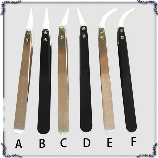 E sigaretta Utensili di montaggio Pinzette termoresistenti Pinzette in ceramica Ricostruisci utensile Ceramica resistente all'acciaio inossidabile Cerchette 0266156