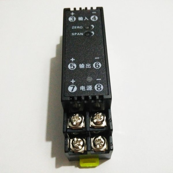 4-20mA 0-5 V 0-75mV 0-10 V Sinyal Dönüştürücü 24 V Güç Kaynağı 1.5 kV Izolasyon Analog Akım Gerilim Dönüştürücü