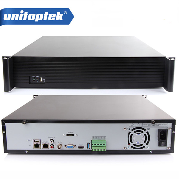 2U 4K 64CH NVR Video Recorder Support 64CH 8.0MP/5MP/3MP/1080P IP Camera Recorder HDMI&Onvif P2P For Camera System 9*HDD
