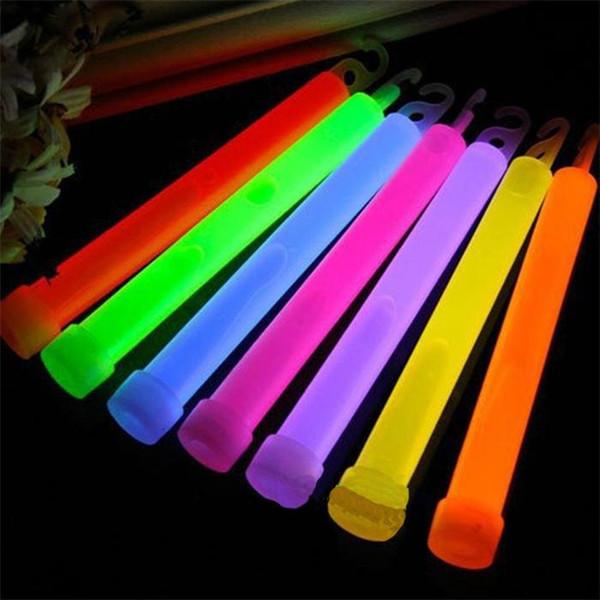 2015 de alta calidad del partido de la manera fluorescente líquido Chemical Light Stick luces de camping Glow stick 5ps
