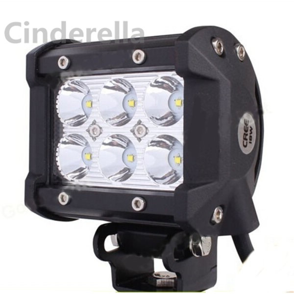 CREE LED Work Light for Motorcycle Tractor Boat Off Road Truck ATV free shipping