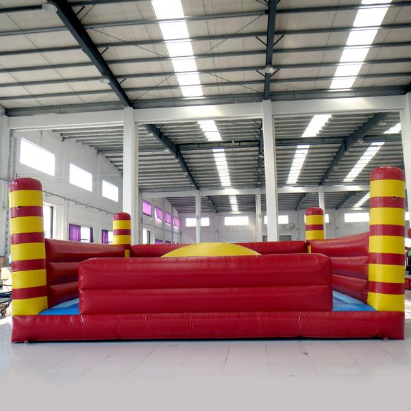 AOQI inflatable fun city inflatable Soft mountain fun city inflatable fun land for kids for sale made in China