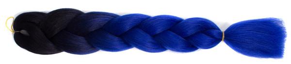 ombre blue 15color