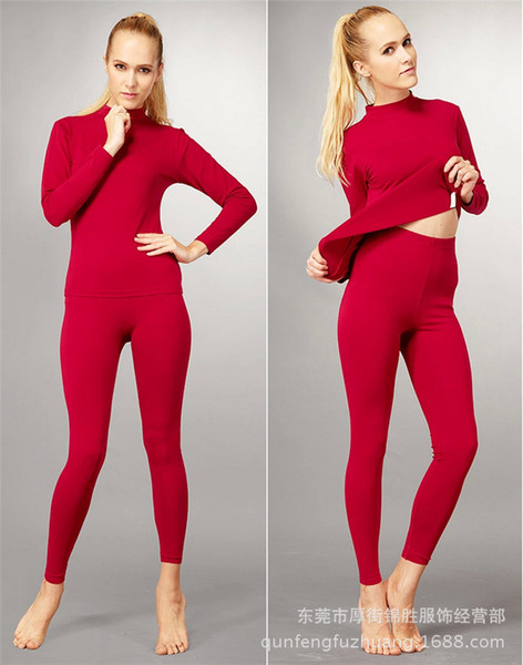 2017 Wholesale G4 New 2015 Winter Thermal Underwear Women Casual ...