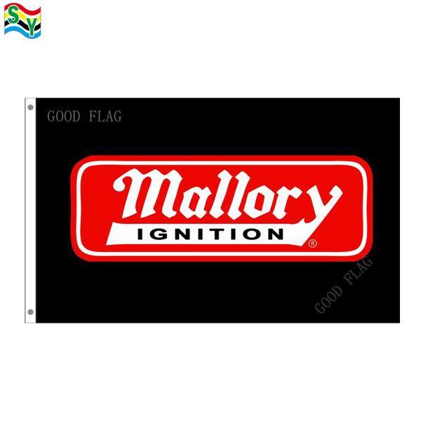 Bandera Mallory Flag tamaño 3x5FT 90 * 150 cm con ojal metálico, bandera exterior