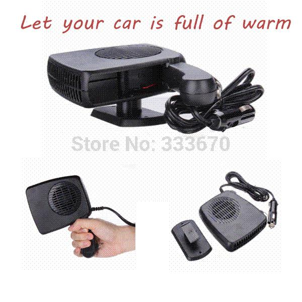 12V 150W Auto Car Auto Vehicle Portable Dryer Heater Heating Cooler Fan Demister Defroster 2 in 1 Warm/Hot Cold Free Shipping M17311